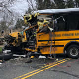 Update: School Buses Crash, Sending 10 To Hospital, Some With Severe Injuries, In Greenwich