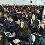Humorist Mo Rocca Addresses Sarah Lawrence College Graduates