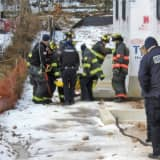 UPDATE: Ridgewood Firefighters Rescue Construction Worker Who Fell 20 Feet Into Basement