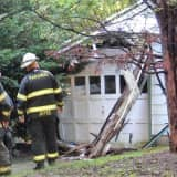 Roof Of Attached Paramus Garage Collapses