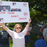 Gun Control Advocates Rally At Congressman Garrett's Glen Rock Office
