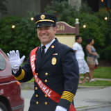 New Canaan Firefighters March In Mount Kisco Parade