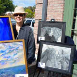 Darien Rowayton Bank Honors Artist Gigi Barrett With Reception