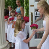 Roses Bloom At Commencement For Sacred Heart Greenwich