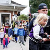 Kids See Firefighting Techniques, Equipment Up Close At Ho-Ho-Kus Open House
