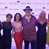 Kristin Davis, John Popper, Walk Red Carpet At Greenwich Film Fest Opener