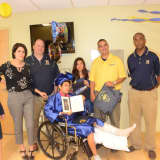 Injured Hackensack High School Student Gets Hospital Graduation Surprise