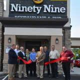 Ninety Nine Celebrates Opening With Donation To Danbury Youth Baseball
