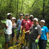 Adults With Disabilities Rehabilitate Two Trails At Onatru Preserve
