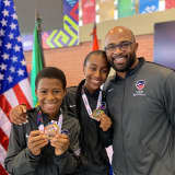 Greenwich Brother, Sister Who Train In Westchester Win Medals At Youth Fencing Championships