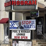 'Israelis Are New Nazis': Paterson Hookah Shop Posts Anti-Israel Sign With Swastika