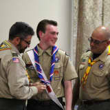 Municipal Project Earns Hasbrouck Heights Teen Eagle Scout Rank