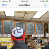 Man Wearing Baseball Cap With Swastika Escorted By Police Out Of Westchester Diner