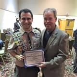 Ed Day Honors Rockland Eagle Scout