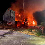 Massive Fire Destroyed Barn In Lancaster County