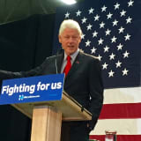 PHOTOS: Bill Clinton Stumps For Hillary At Paterson College