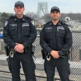 HEROES: Port Authority Police Officers Revive Heart Attack Victim On GWB