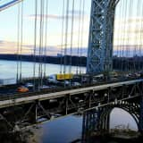 Authorities: Thief In Stolen Car Pursuit Rams Fort Lee Police Cruiser On GWB