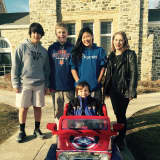 Weston Student Puts 5-Year-Old Ridgefield Boy In Driver's Seat