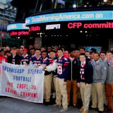 Stepinac Football Team Appears On 'Good Morning America'