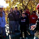 Archbishop Stepinac Students Build, Take Plunge For Chairty
