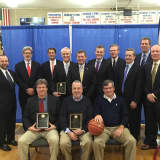 Stepinac Inducts 1976-'77 Varsity Basketball Team Into Hall Of Fame