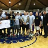 Fallen Police Officer Honored With 'Battle Of The Blue' Basketball Contest