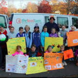 Darien School Stages Turkey Drive To Support Food Bank