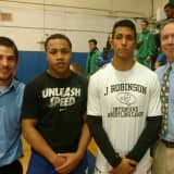 Two Hendrick Hudson Wrestlers Win Section One Titles