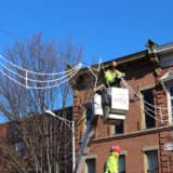 Tis The Season: Holiday Lights Going Up In Downtown Danbury