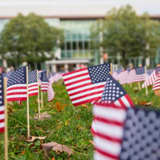 Students Plant Thousands Of American Flags In Wayne