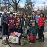 Ridgewood Students Help Ease Trauma For Kids Visiting Police Station