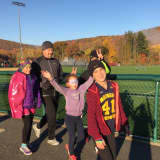 Young Runners, Buddies Practice For Upcoming 5K At Mahwah Track