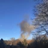 Firefighters From Multiple Municipalities Battle Blaze In South Salem