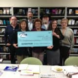 Fair Lawn Chamber Of Commerce Gives Check To Food Pantry