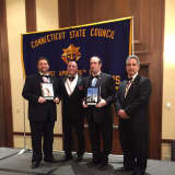 Norwalk Knights Of Columbus Receive Award From State Council