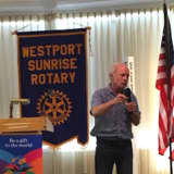 Storyteller Crafts Tales For The Crowd At Westport Sunrise Rotary