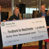 Food Bank For Westchester Welcomes $65K Donation From Swiss Re