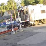 NJ Transit Train Collides With Car In River Edge