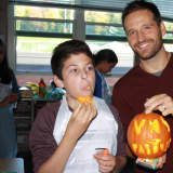Partners Program Plays Around At Pumpkin Party