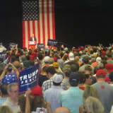 Trump Hits All His Favorite Targets In Rallying Crowd At SHU