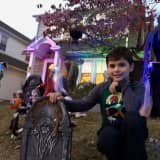 PHOTOS: Boy Transforms Westwood Yard Into Haunted Halloween Heaven