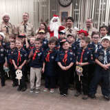 Cub Scouts Spread Christmas Cheer At Rehab Facility In Saddle Brook