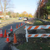 West Hartsdale Road Gets New Sidewalk Along Route 100A