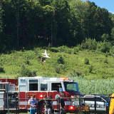 Plane Crashes On Takeoff At Danbury Airport
