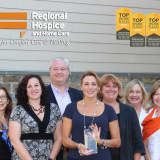 Danbury's Regional Hospice And Home Care Ranks Among Top Workplaces