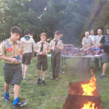 PHOTOS: Rutherford Boy Scouts Burn Flags In Formal Ceremony