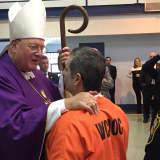 Cardinal Dolan Emphasizes Redemption In Westchester County Jail Visit