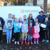 Darien's Holmes School Collects Turkeys For Food Bank