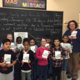 White Plains Third-Graders Receive Dictionaries From Elks Lodge